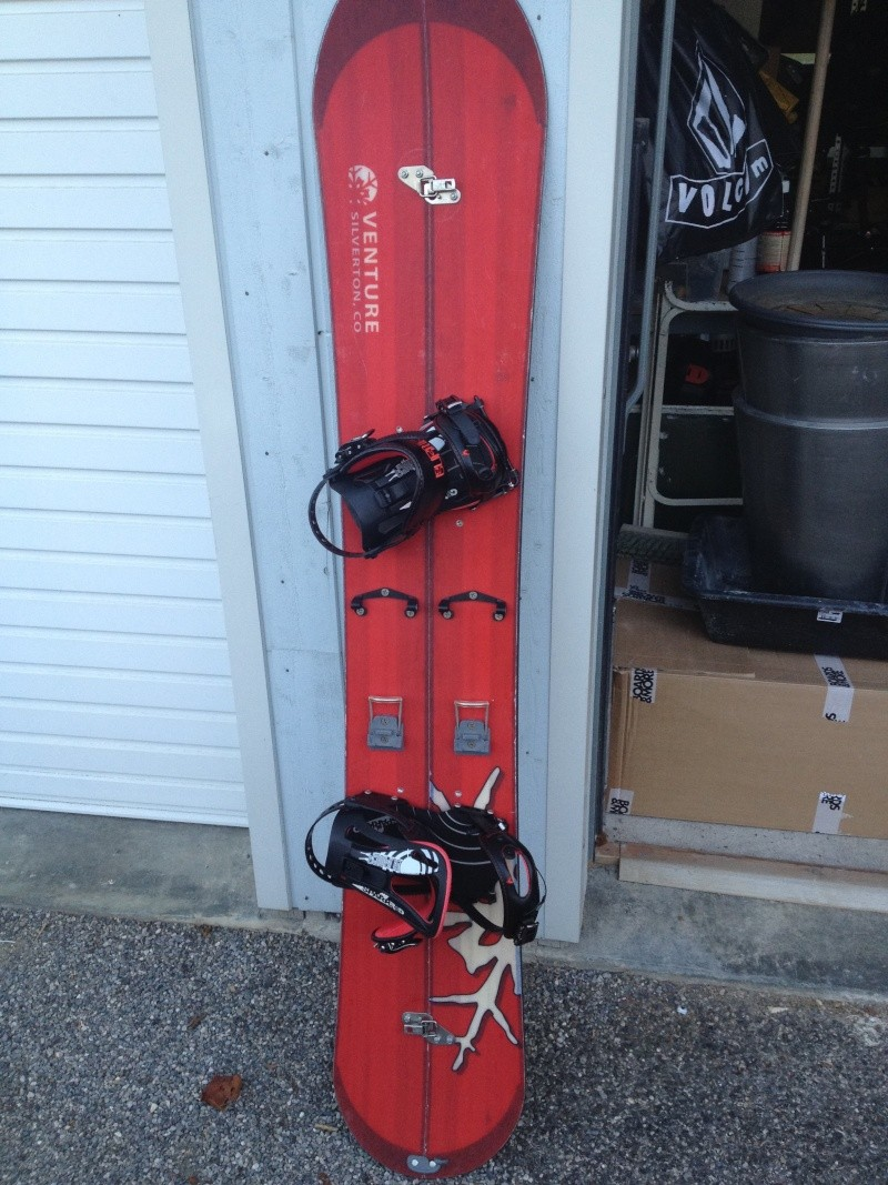 A VENDRE Venture Snowboard + Fix Spark Burner Img_1811