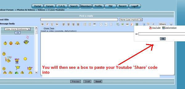 How to post a YouTube Video correctly Youtub13