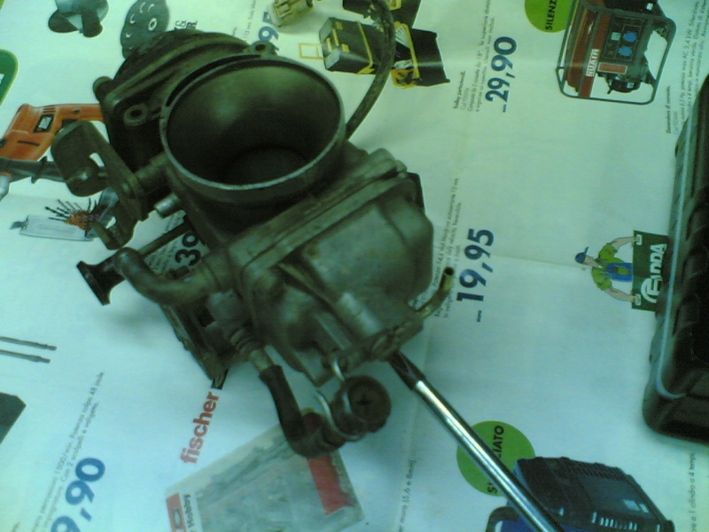 Pulire il carburatore BST 33 21102022