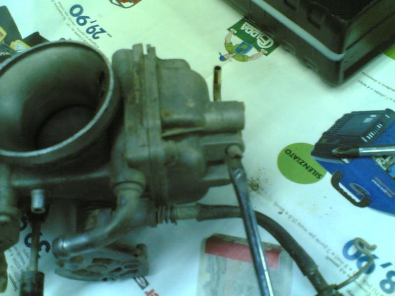 Pulire il carburatore BST 33 21102023