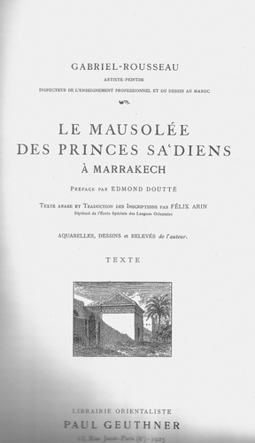 Le MAUSOLEE DES PRINCES SAADIENS A_a_mt19