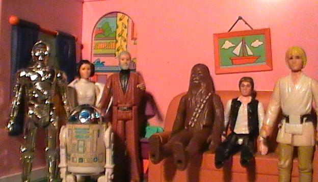Vintage Palitoy/Kenner Star Wars Toys! Family10
