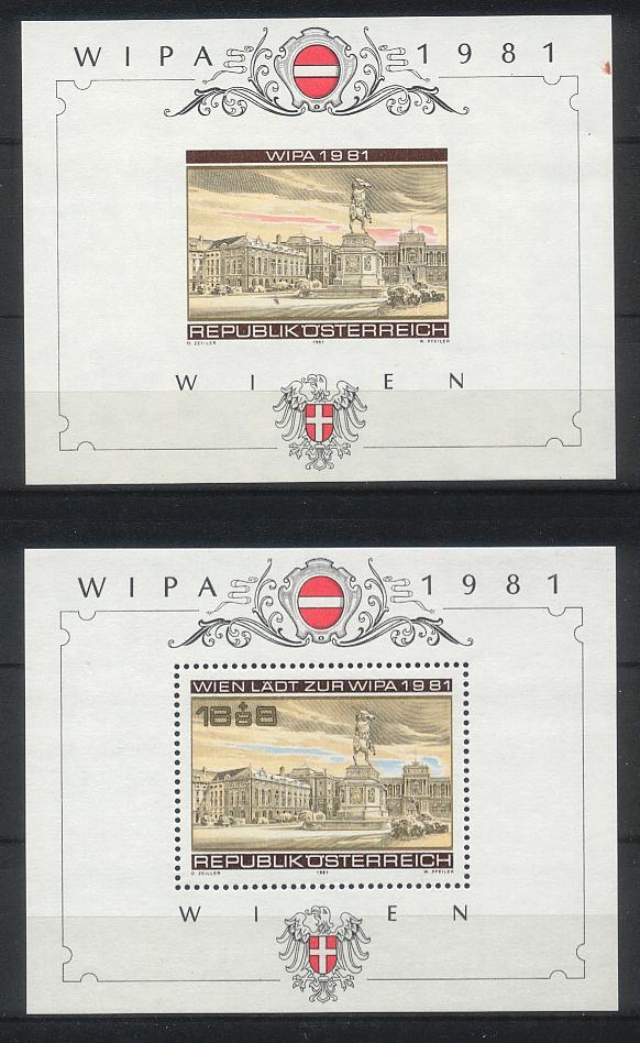 WIPA 1981, Block 5 ohne Zähnung A000410