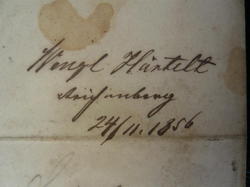 Alte Briefe aus Österreich P1460316