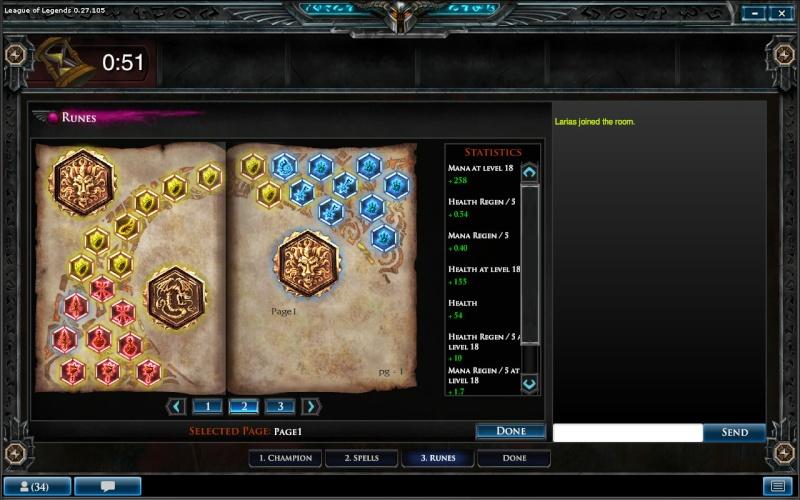League of Legends Runepa10