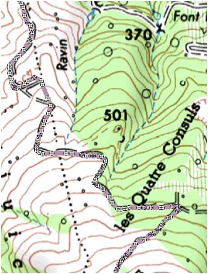 [Tuto] Préparer une trace GPS en vue d'une sortie 410