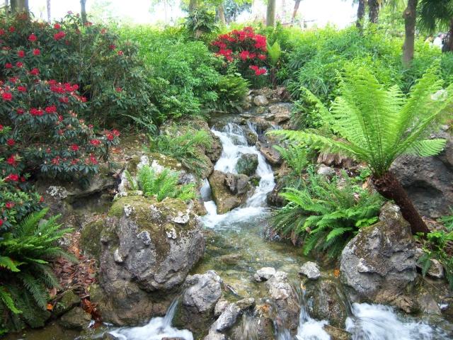 Les Jardins, Les Fleurs et l'Eau au DLP Disney69