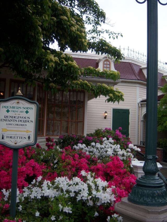 Les Jardins, Les Fleurs et l'Eau au DLP Disney75