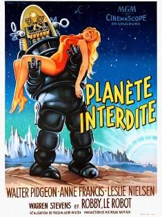 LA PLANETE INTERDITE Affich11