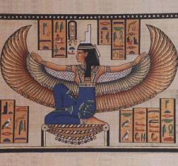 MYTHOLOGIE EGYPTIENNE Isis_010