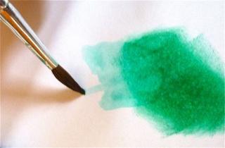 Fond de page complet: mask et encres aquarellables à encreur P1090835