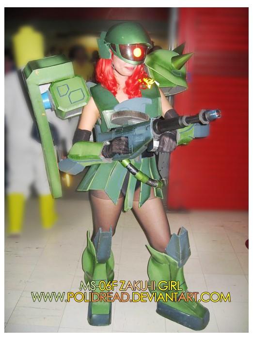 Gundam Girls Zaku_g10