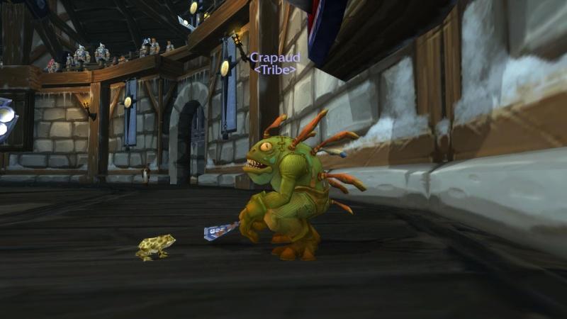 une grenouille, mort-vivant, qui soigne ... j'y croa croa pas !!!!! Wowscr11