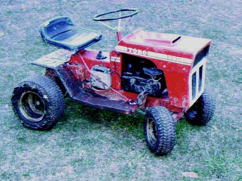 The Tractor That Got You All Into This (First Tractor) Toro10