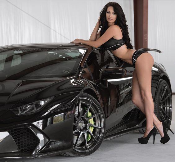 Les Jolies Femmes et l'Automobile XIV - Page 6 -sexy_11