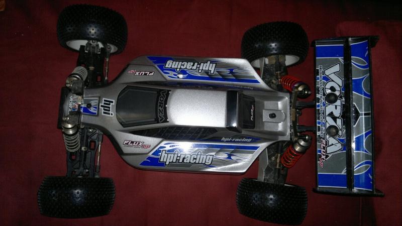 """Des pneus plus large sur leur buggy 1/8 3.2"""" au lieu de 2.2"""" sans colle 20012018"""