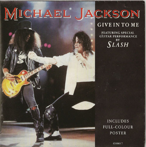 45T de MJ: les 'Poster-Bag Sleeves' Give10