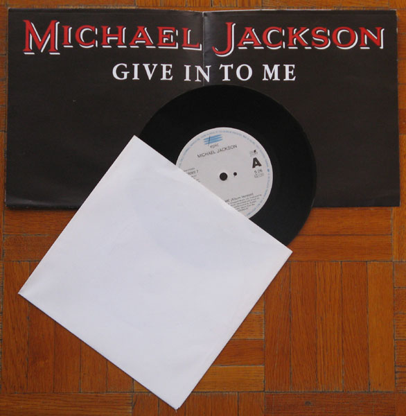 45T de MJ: les 'Poster-Bag Sleeves'