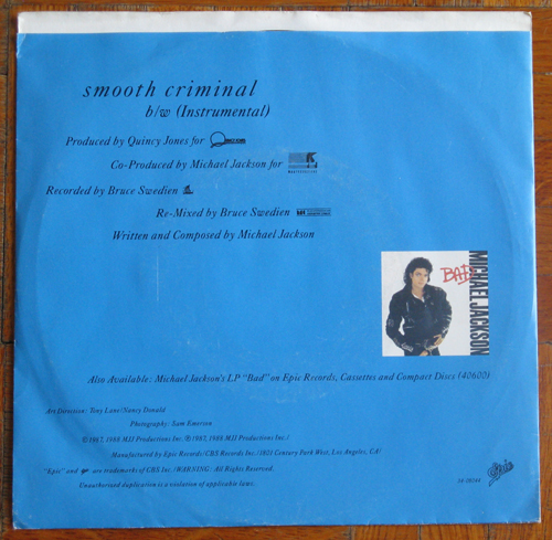 Single Smooth Criminal: histoire de pochettes Img26914