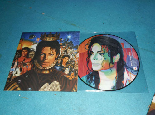 Picture Disc Michael Picmic10