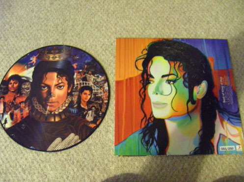 Picture Disc Michael Picmic11