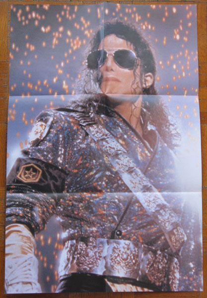 45T de MJ: les 'Poster-Bag Sleeves' Scream11