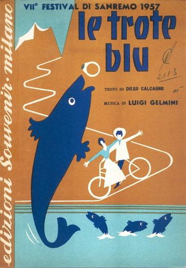 FESTIVAL DI SANREMO 1957: I CANTANTI - LE CANZONI - I TESTI Letrot10