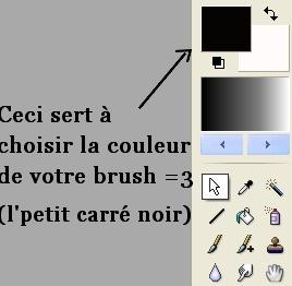 Poser un brush. ♪  Sans_t28