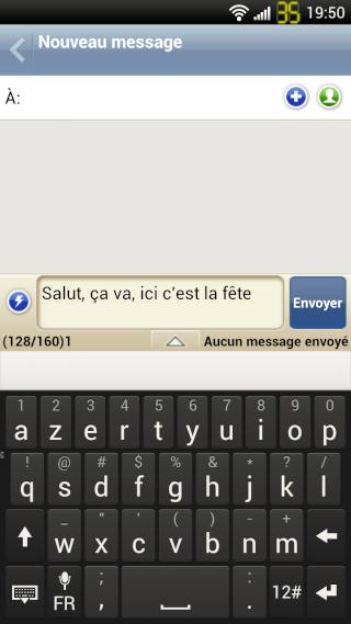 [RÉSOLU] Problème de prédiction de mots sur les SMS 2012-018