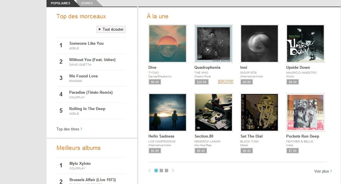 [SOFT] GOOGLE MUSIC : Boutique de musique en ligne [Gratuit] Captur20
