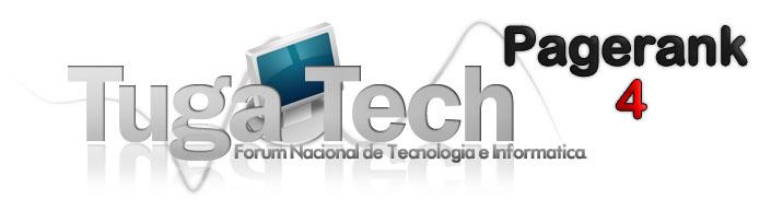TugaTech cada vez mais reconhecido! Pagerank 4/10 Logoby10