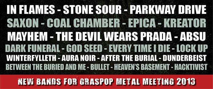 Graspop  festival (Belgisue)2013 !!!!! Banner10
