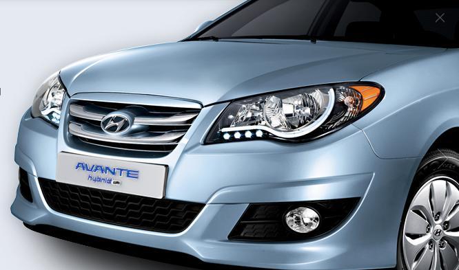 Hyundai Elantra Híbrido (eléctrico-GLP) Avante11
