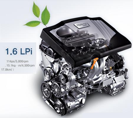 Hyundai Elantra Híbrido (eléctrico-GLP) Avante25