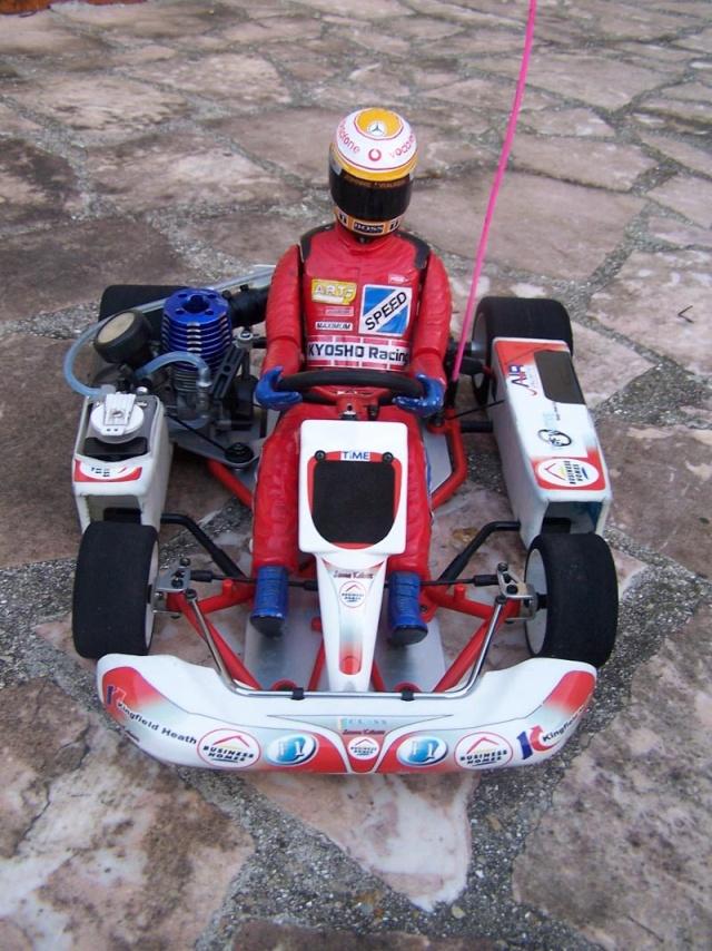 Nouvel achat fort sympathique kart kyosho Cadet210