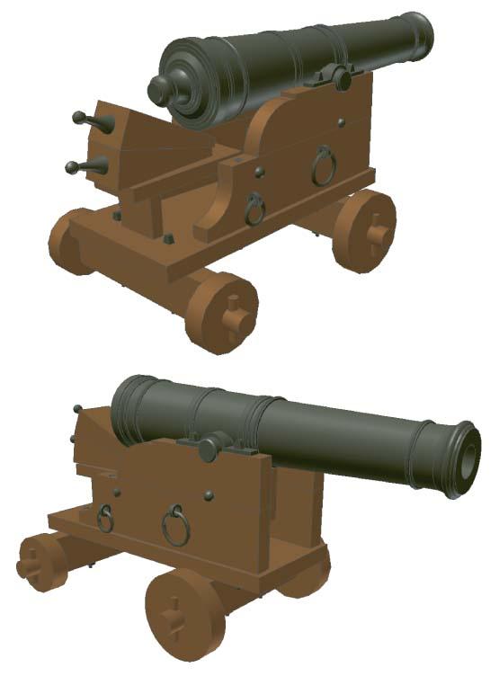 cannoni couronne 1636 Saker10