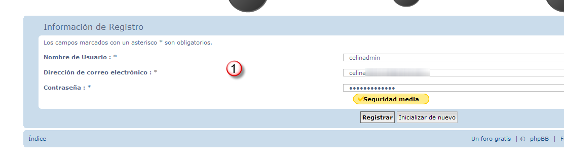 Registrar varios usuarios con un mismo email 800010