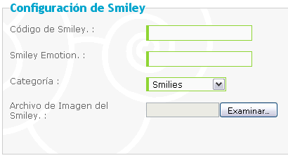 como anadir emoticones Smile310