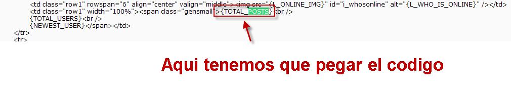 """Modificar el """"¿Quién está en línea?"""" Temp410"""