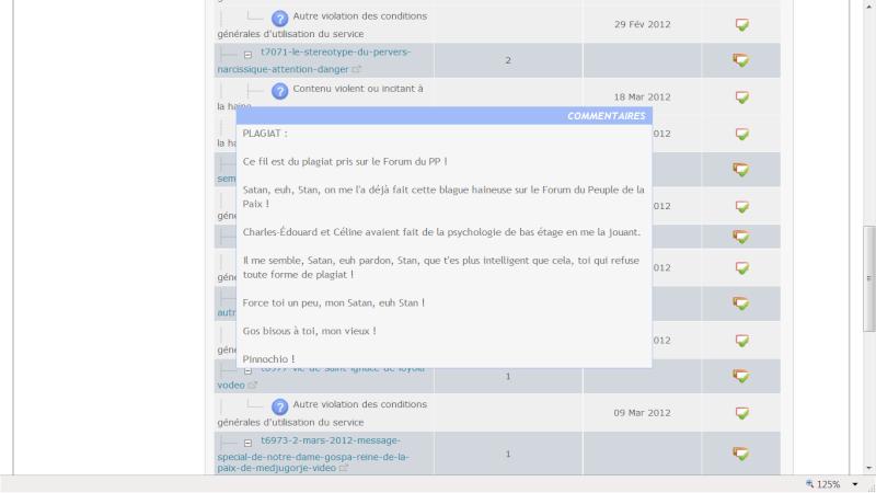 Lettre ouverte à Octo, l'administrateur du forum VSJ Perver11