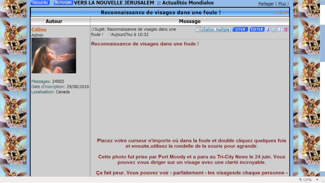 Lettre ouverte à Octo, l'administrateur du forum VSJ Visage11