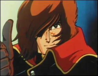 SPACE PIRATE CpT HARLOCK - Captain Harlock (Albator) - (RAH 005 ) Albato10
