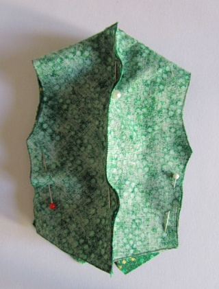 Confection d'un gilet Gilet410