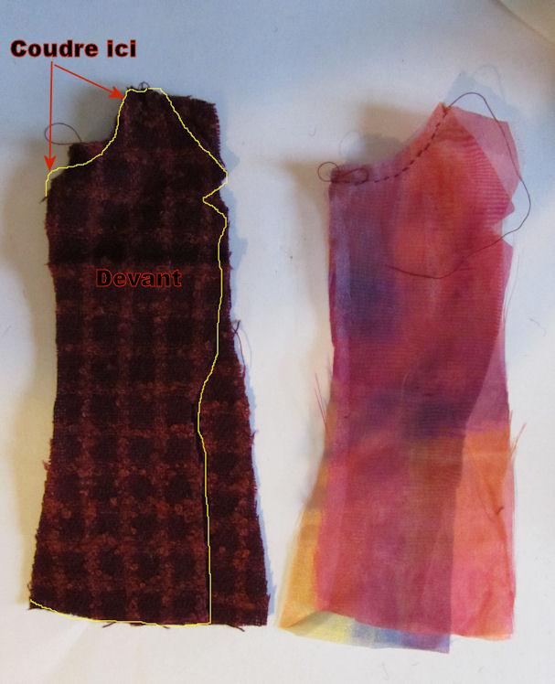 Confection d'une veste doublée Veste110
