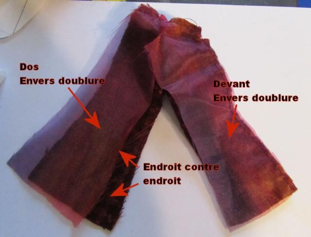 Confection d'une veste doublée Veste310