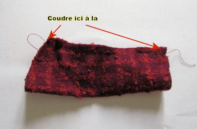 Confection d'une veste doublée Veste610