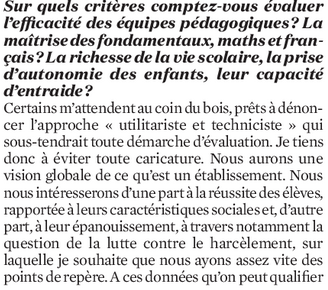 Rentrée scolaire : comment Jean-Michel Blanquer veut changer la vie des profs 110