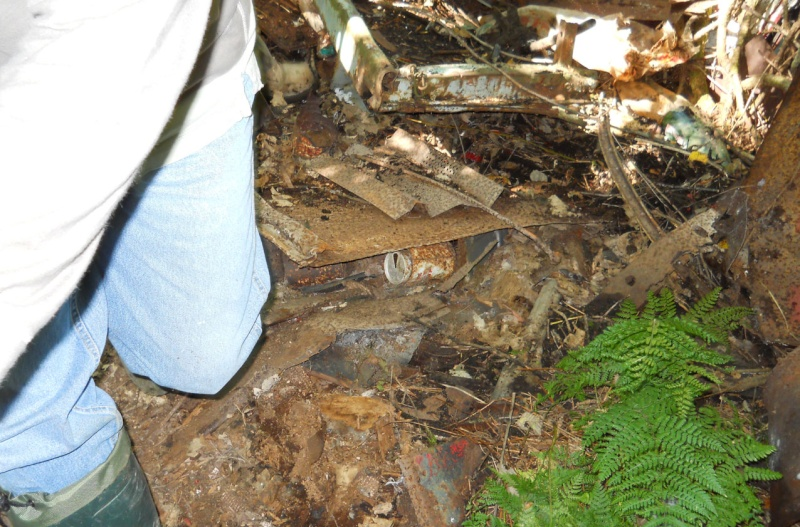 """Rapport de """"creuse"""" - Dompe de St-Ours, Québec - 18 septembre 2011 1515"""