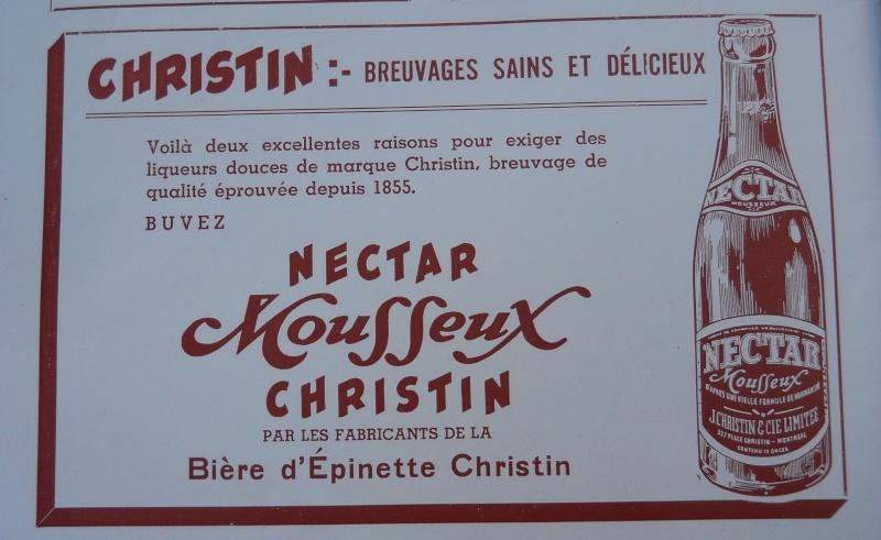 Publicité J. CHRISTIN & Cie / Juin - Juillet 1944 Annonc10