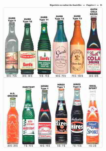 quels sont les price guide les plus complet sur les bouteille de biere , liqueuer , pot et les bouteille alimentaire et aussi ou je puis me les procuré. MERCI D'AVANCE  B210